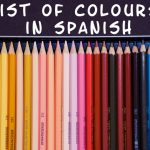 list of colours in Spanish