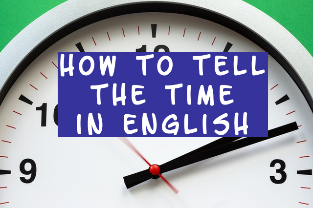 time in English